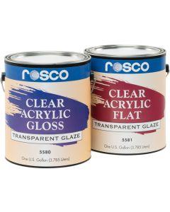Rosco Clear Flat Acrylic 3.79 Litres