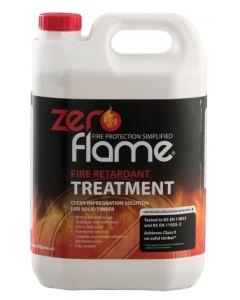 Zero Flame Fire Retardant Treatment